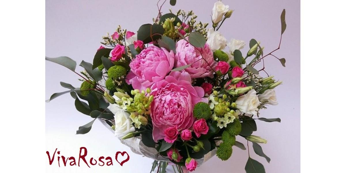 Международная доставка с Viva Rosa - это просто и удобно!