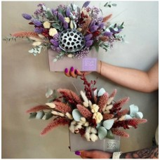 Сухоцветы в конвертах в ассортименте